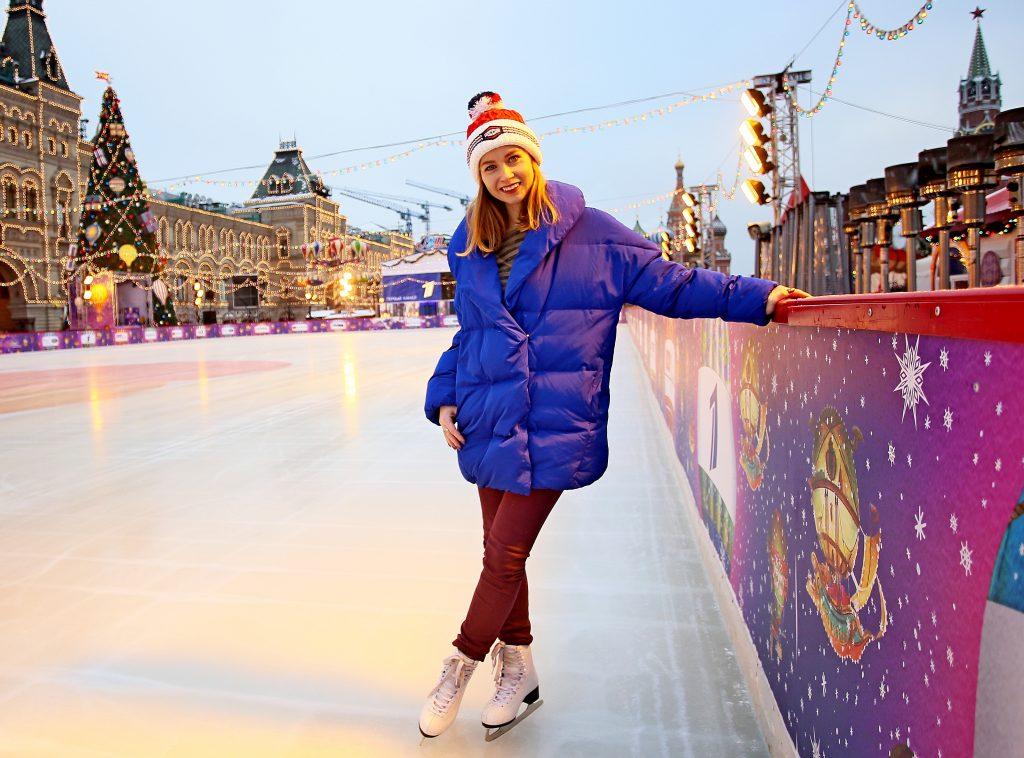 Москвичам рассказали, когда откроется ГУМ-каток на Красной площади