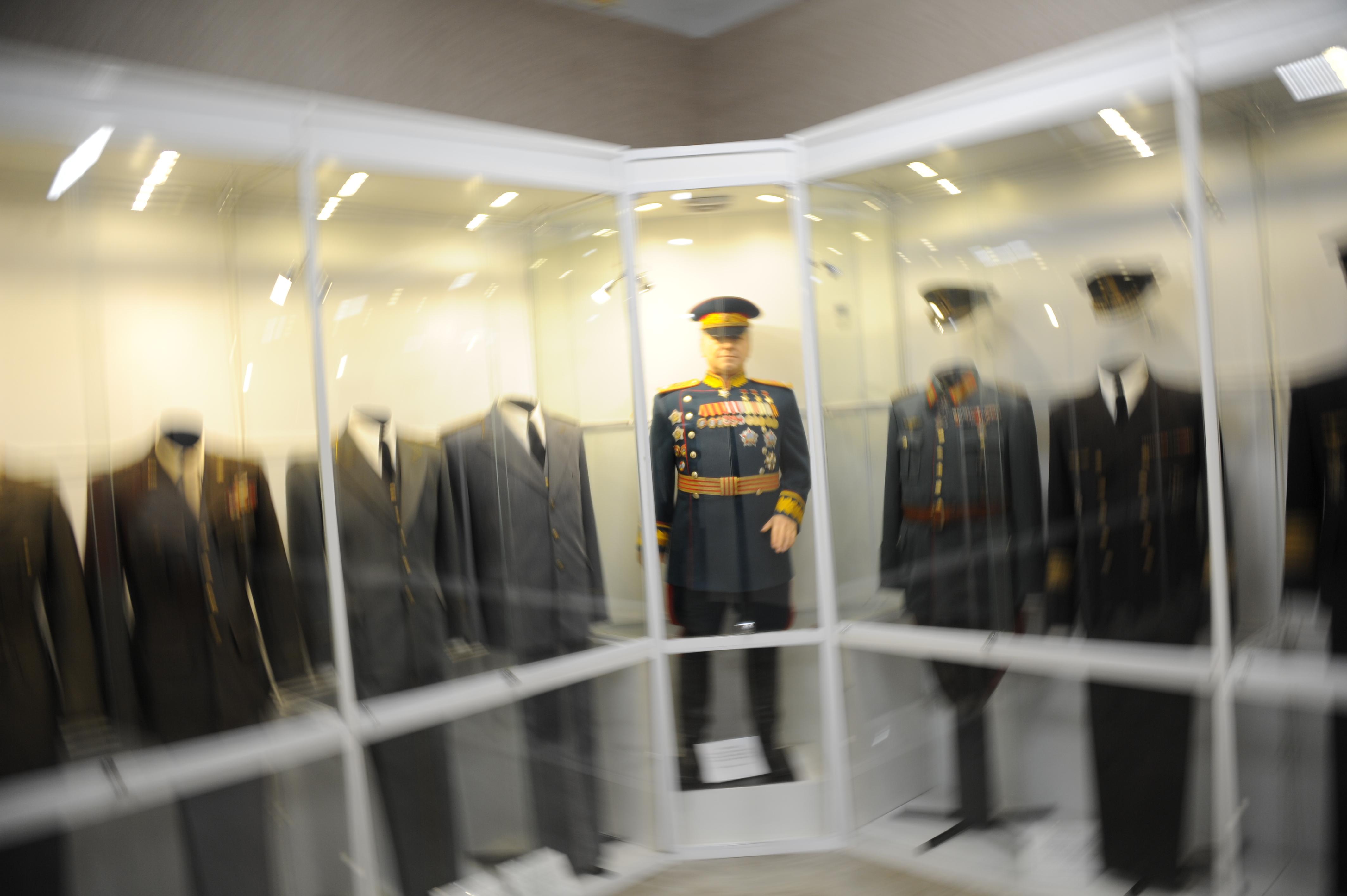 Проект к 290-летию Александра Суворова представят в Музее военой формы. Фото: Светлана Колоскова, «Вечерняя Москва»