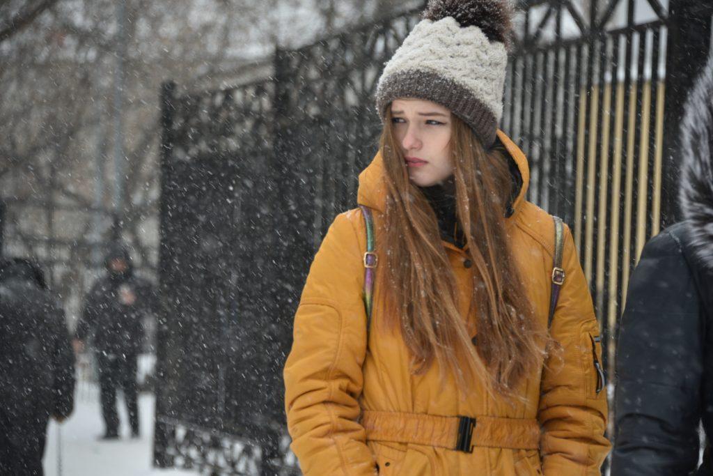 Московская пятница будет снежной