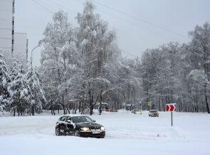 Ситуация на дорогах усложнится к вечеру. Фото: Александр Кожохин