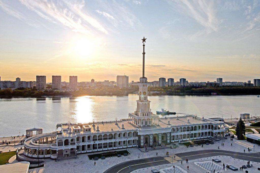 Лучшим объектом реставрации в Москве назвали Северный речной вокзал