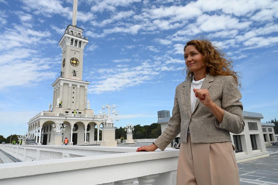 Жители Москвы оценят реставрацию Северного речного вокзала
