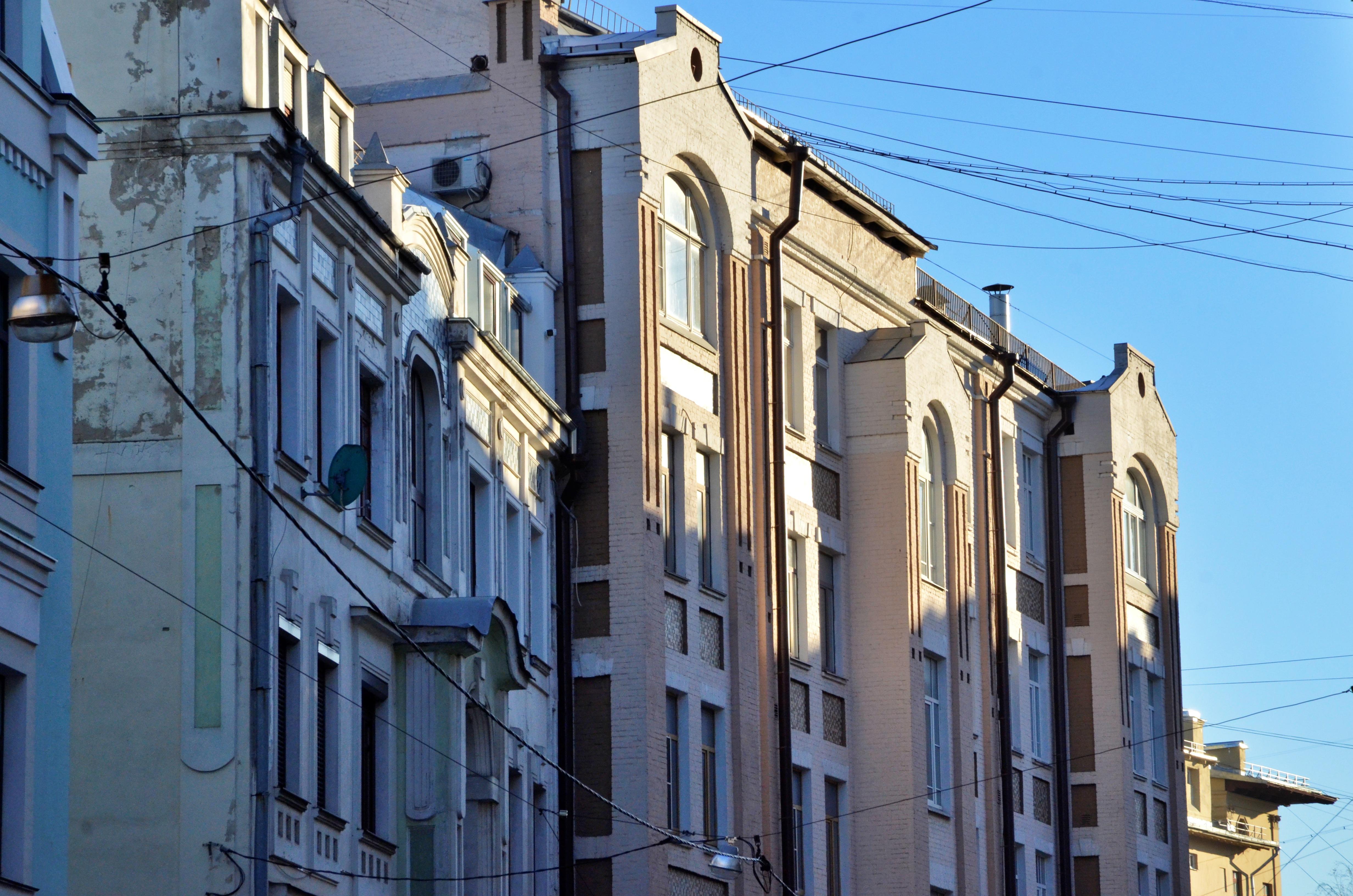 Жилые дома проинспектировалив районеЯкиманка. Фото: Анна Быкова