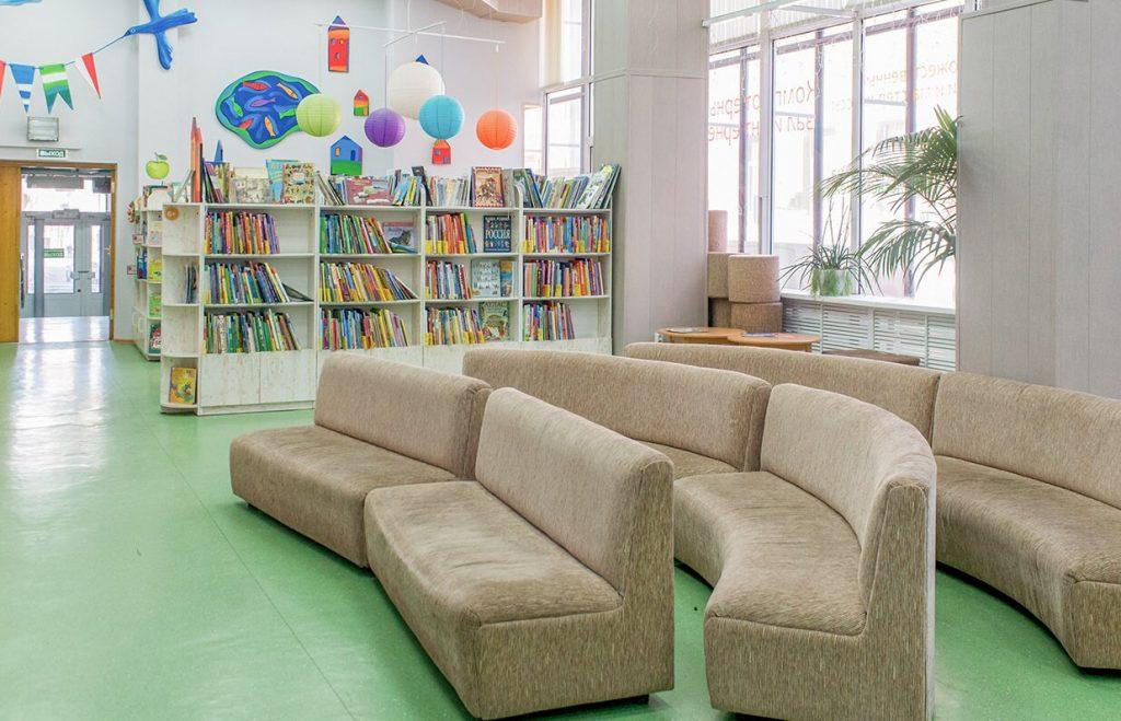 Здание библиотеки имени Аркадия Гайдара отремонтируют