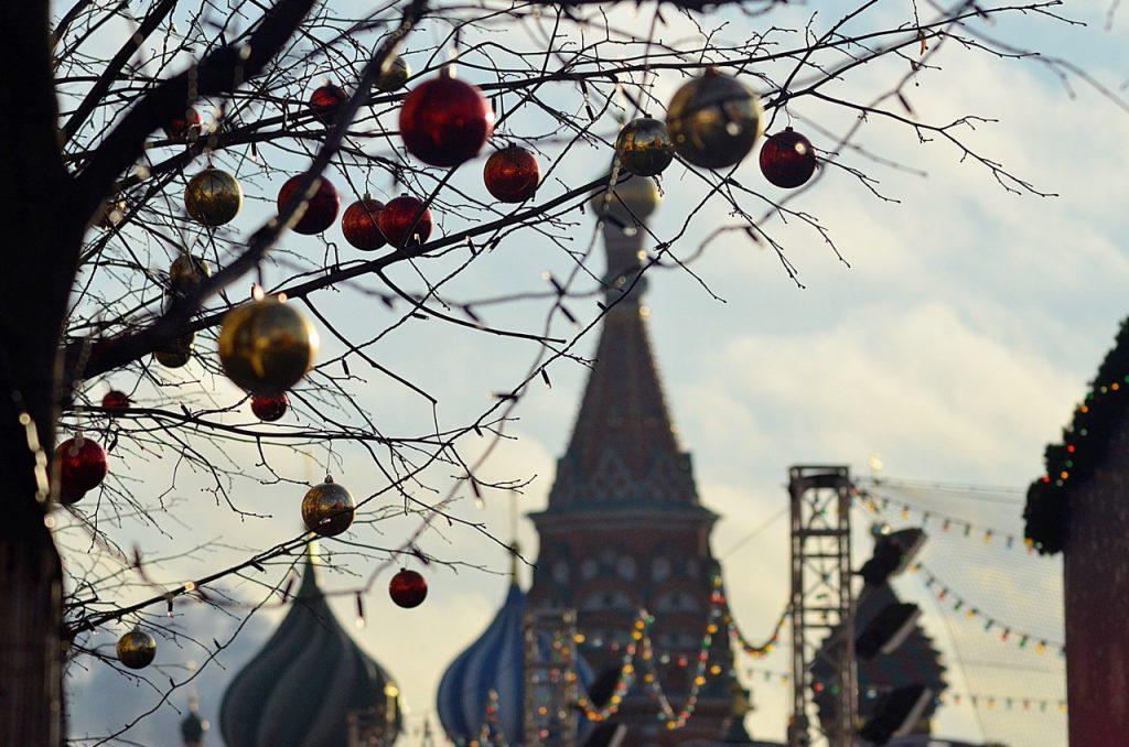 Морозная погода установится в Москве