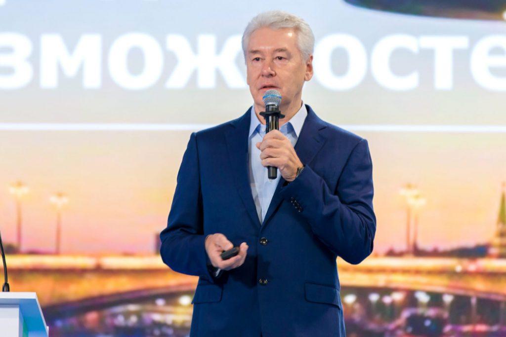 Собянин осмотрел новый спорткомплекс для инвалидов на юге Москвы