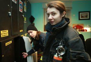 Ксения Белова и Кристина Просол (слева направо). Фото: Наталия Нечаева
