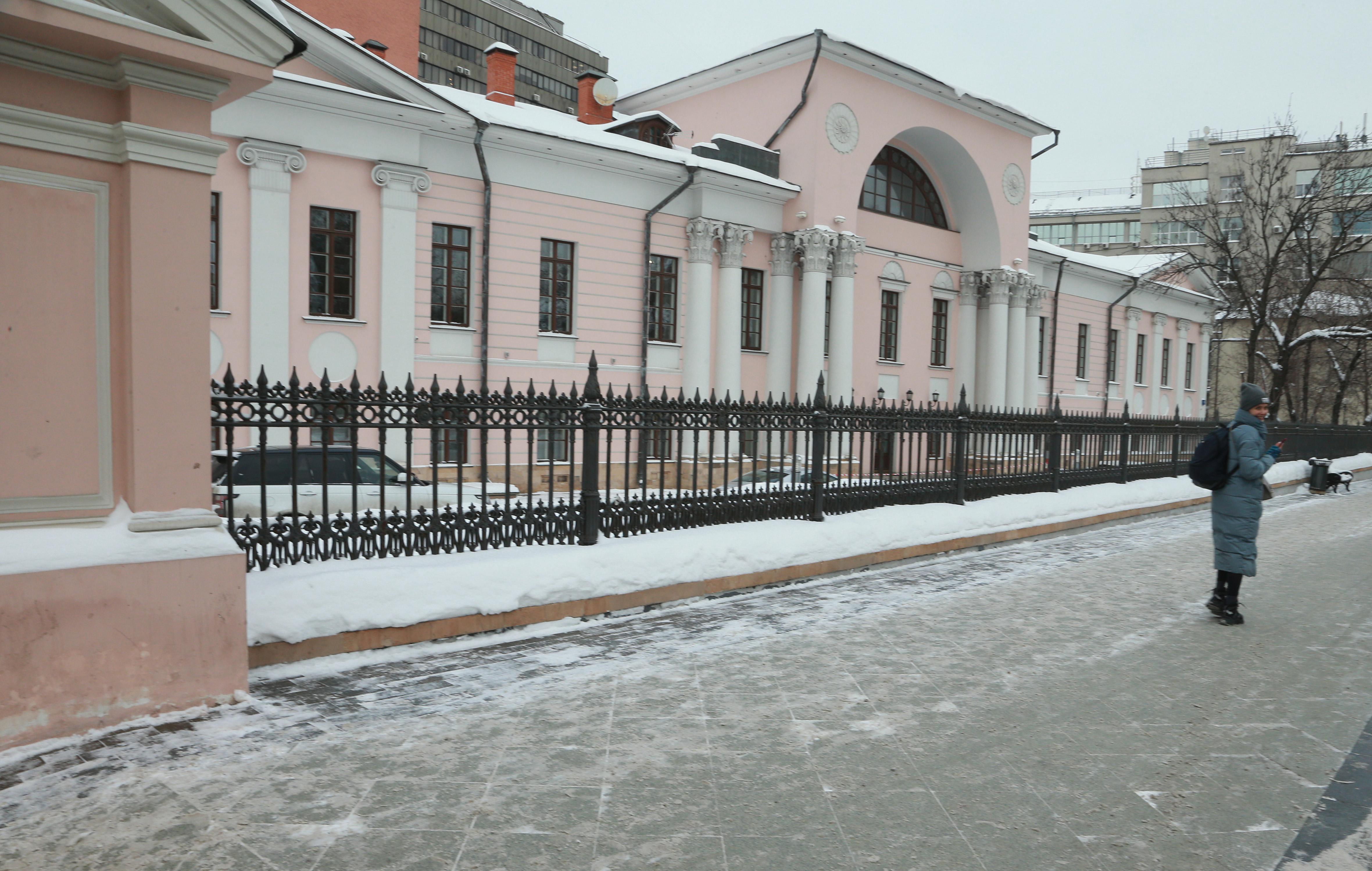 20 января 2021 года. Особняк Лобанова Ростовского. Он отдан под офисы и большую часть года закрыт для экскурсий. Фото: Наталия Нечаева