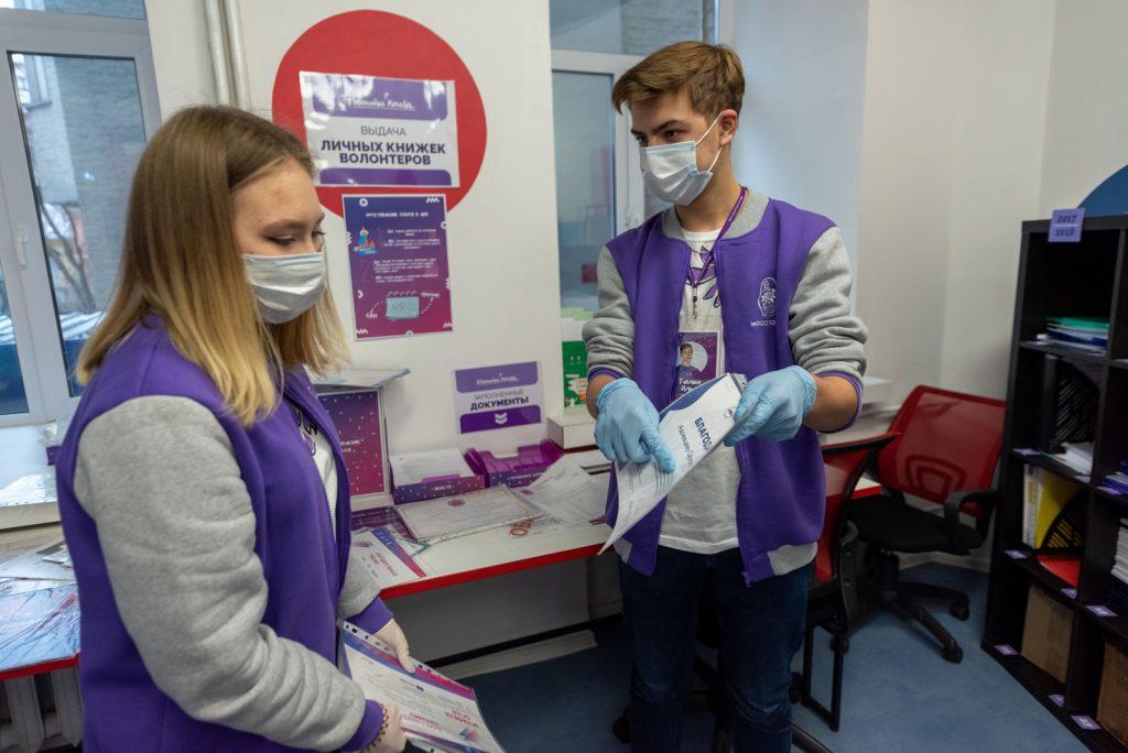 Акция благотворительности «Волонтеры Нового года» началась в столице