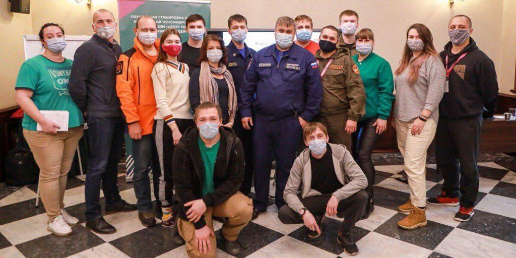 Взаимодействие спасателей столицы и добровольцев помогает в поиске потерявшихся людей