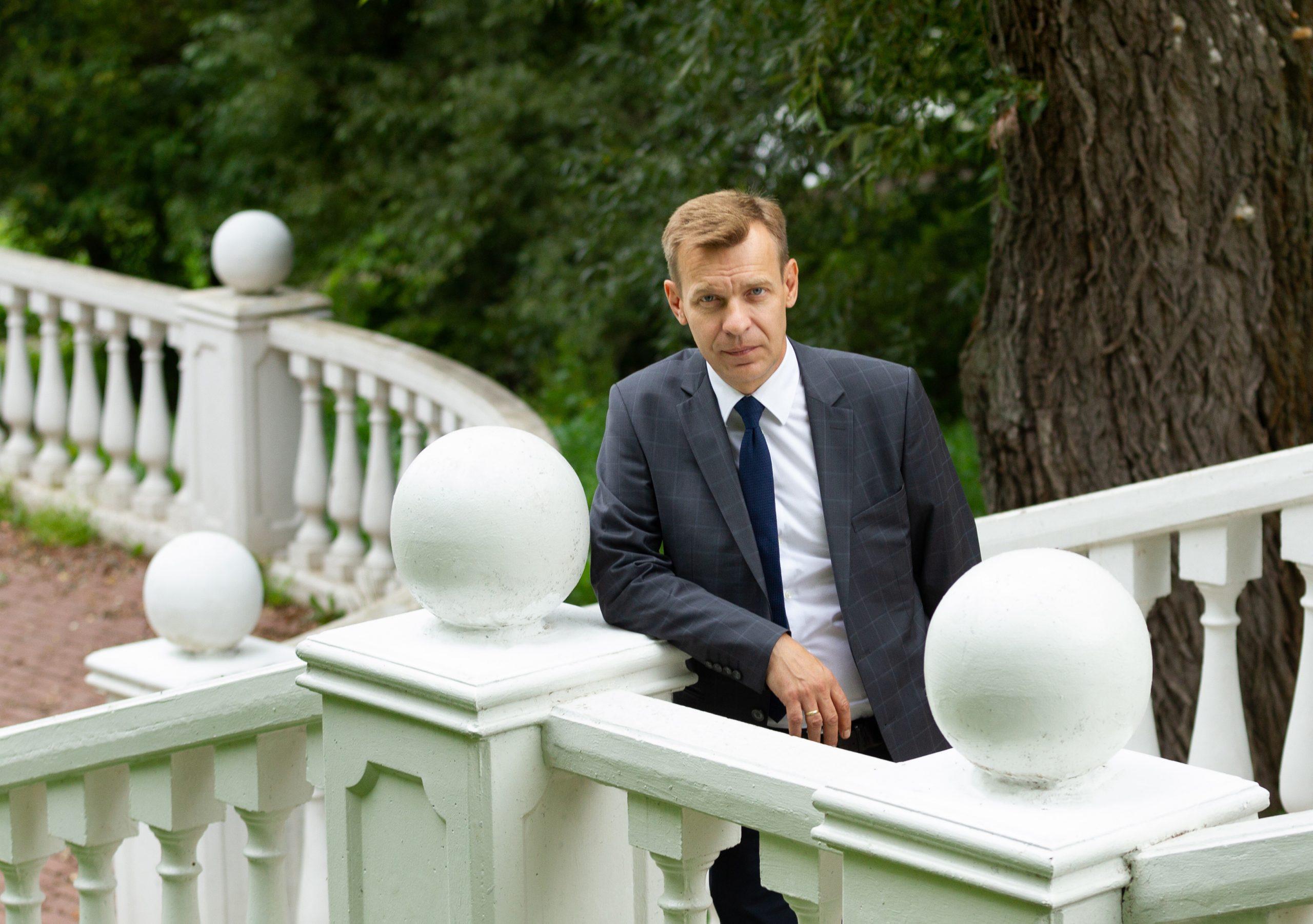 Депутат Московской городской Думы Игорь Бускин