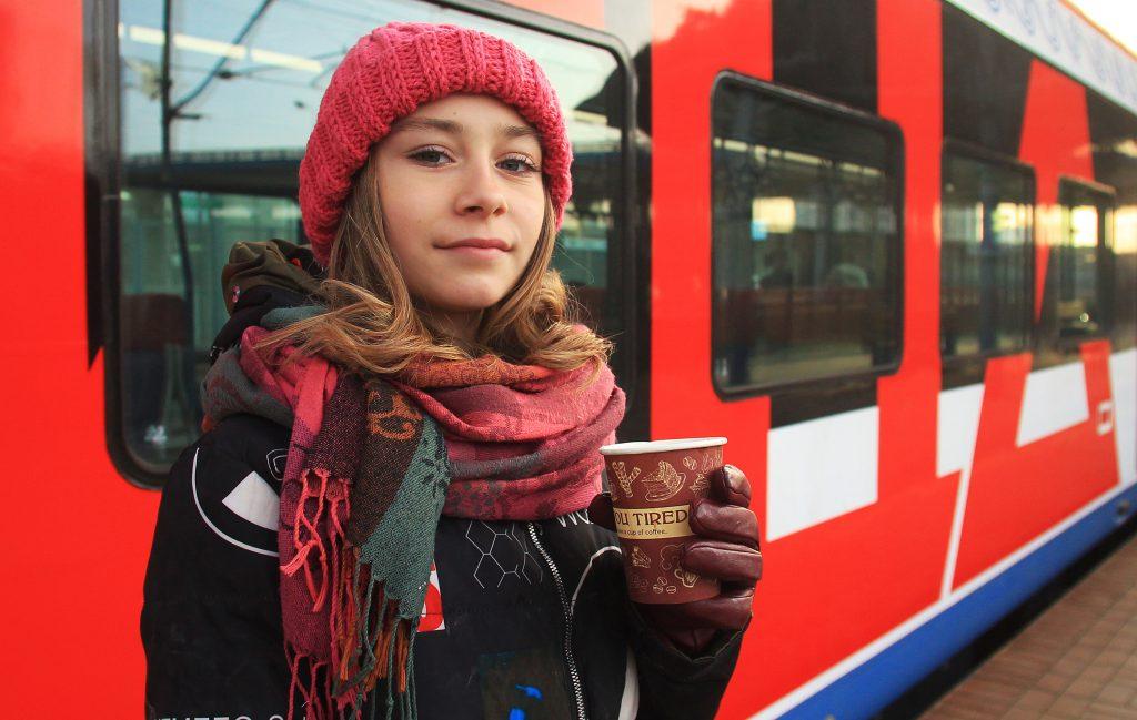 Более семи тысяч пассажиров метро и МЦК стали клиентами новогодней почты