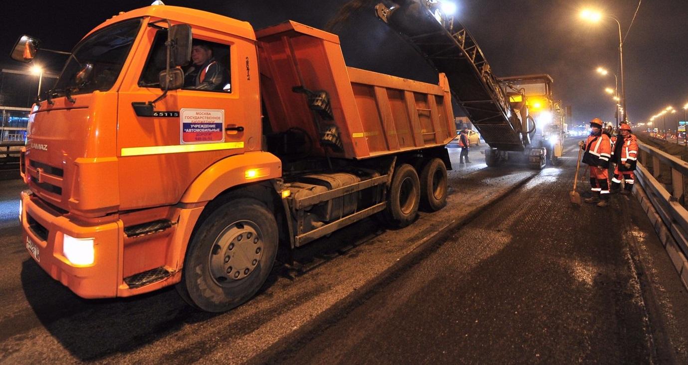 Дороги отремонтировали в двух районах Центрального округа. Фото: сайт мэра Москвы