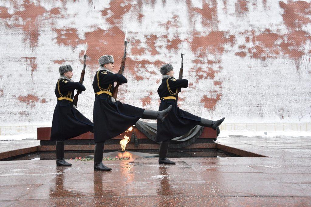 Профилактику Вечного огня проведут в центре Москвы