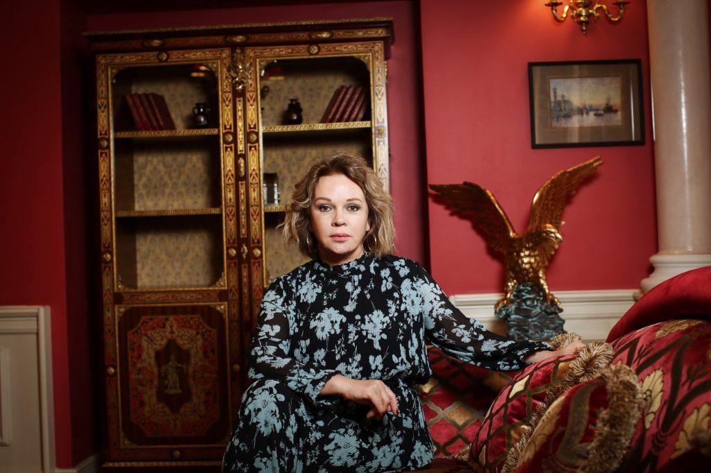 Елена Валюшкина: Мне нужно держать планку