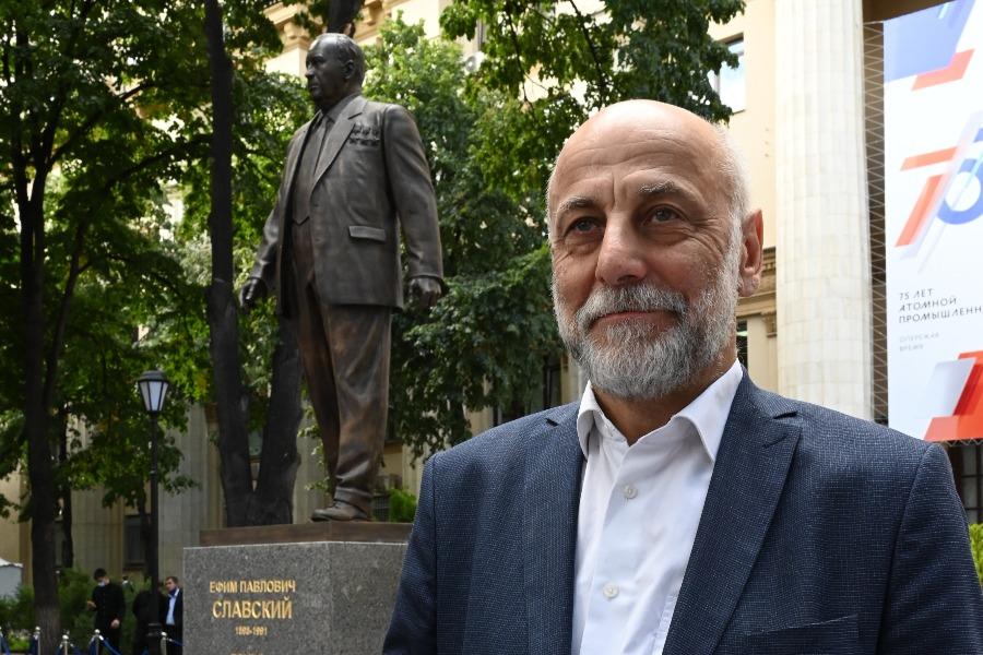 Салават Щербаков: Памятник на Лубянке должен стать основополагающим для страны. Фото: Антон Гердо, «Вечерняя Москва»