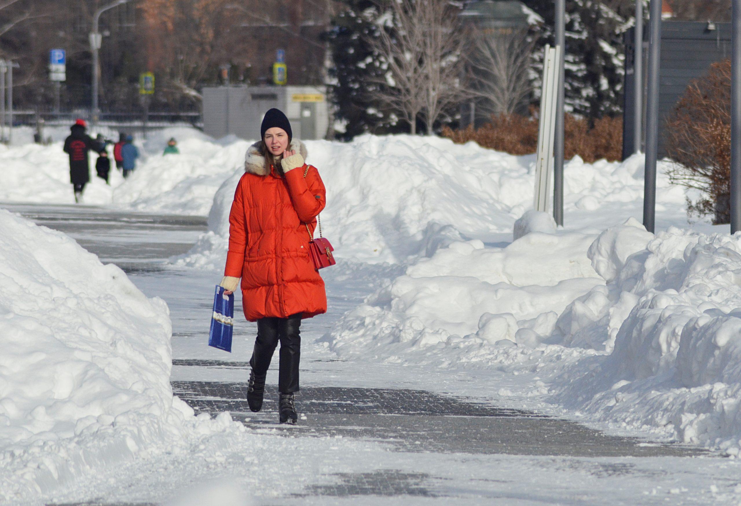 Москвичам рассказали о погоде в столице на понедельник