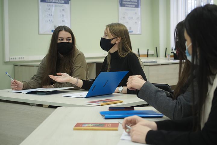 Московские студенты возвращаются к очному обучению 8 февраля. Фото: Антон Гердо, «Вечерняя Москва»