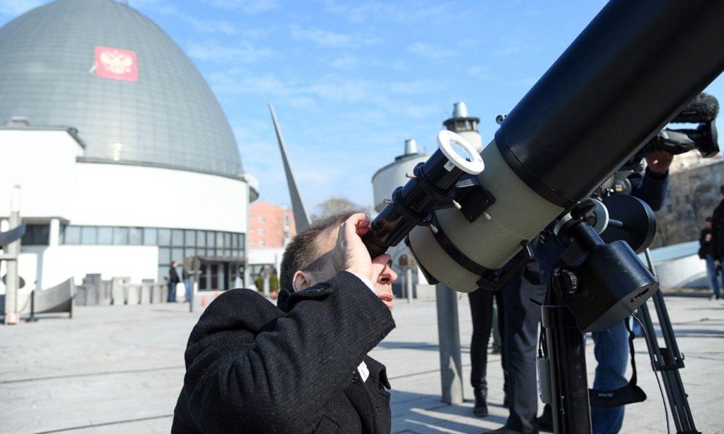 Лекцию о точности астрономов прочитали в Московском планетарии