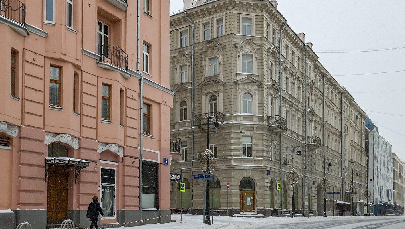 Исторический дом на Остоженке отреставрируют. Фото: сайт мэра Москвы