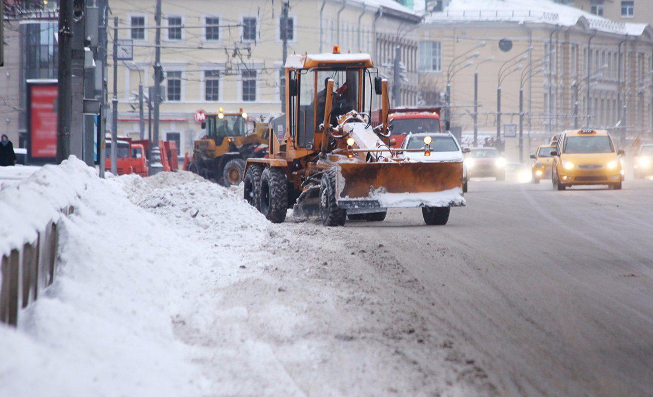 Снежные массы убрали в районе Замоскворечье. Фото: сайт мэра Москвы