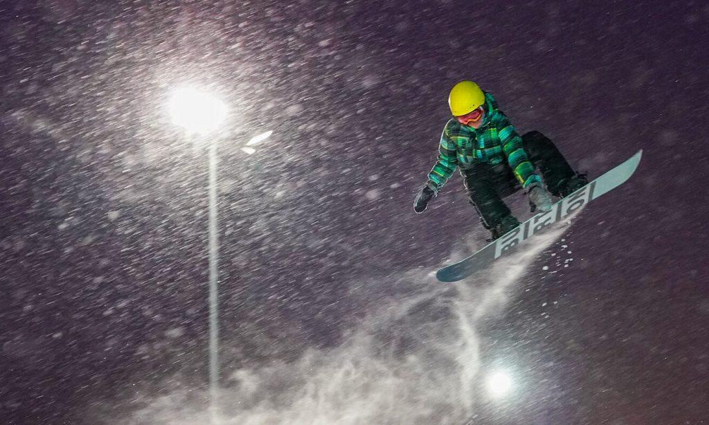 Этап мирового тура по сноуборду в дисциплине биг-эйр «Grand Prix de Russie» состоится в Москве