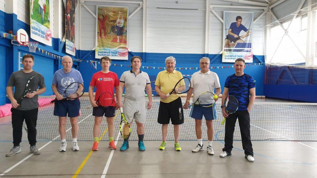 Теннисный турнир среди ветеранов и любителей состоялся в Таганском районе