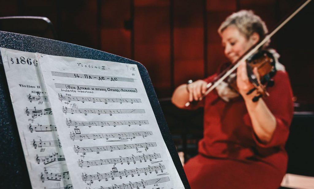 Юные музыканты представили концерт классической музыки в районе Арбат