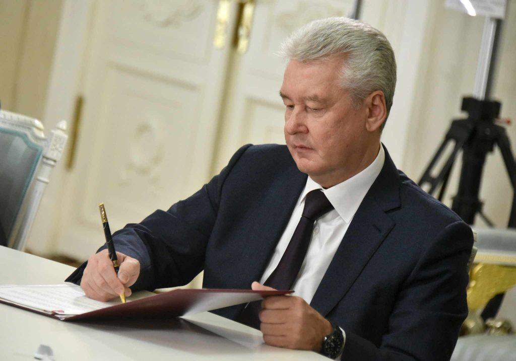 Собянин утвердил проект благоустройства территории вблизи двух станций Киевского направления МЖД