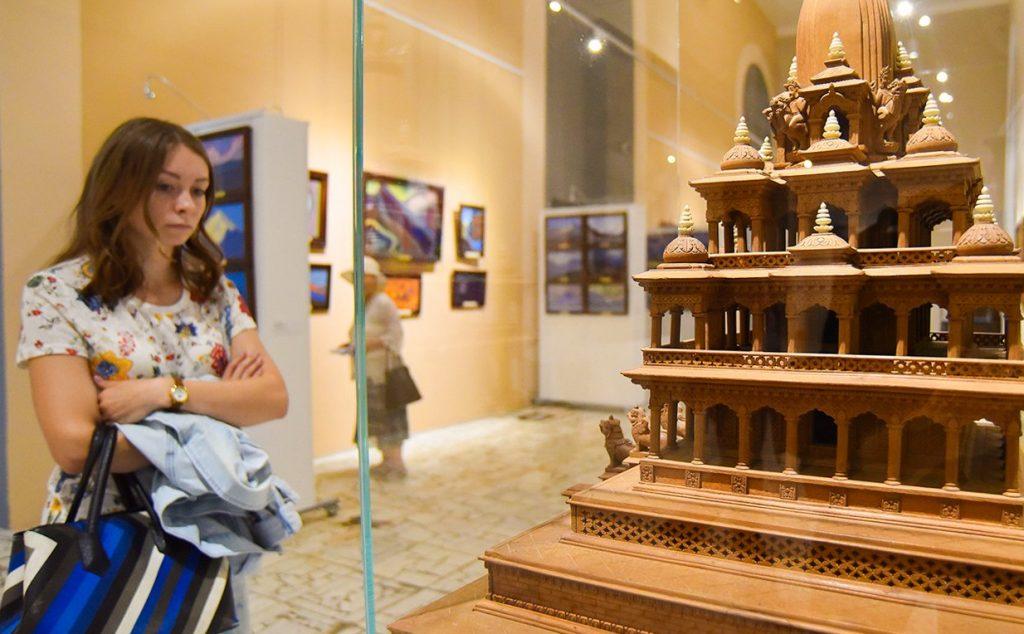 Топографические миниатюры представят на экспозиции «Буква Странника» в Музее Востока. Фото: сайт мэра Москвы