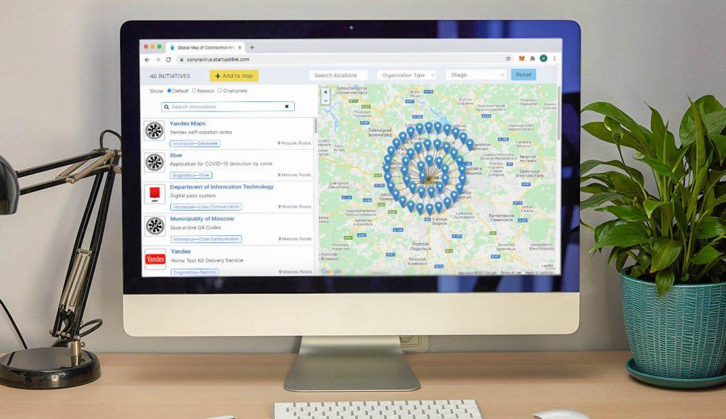 Москва вошла в топ рейтинга инноваций по борьбе с COVID-19
