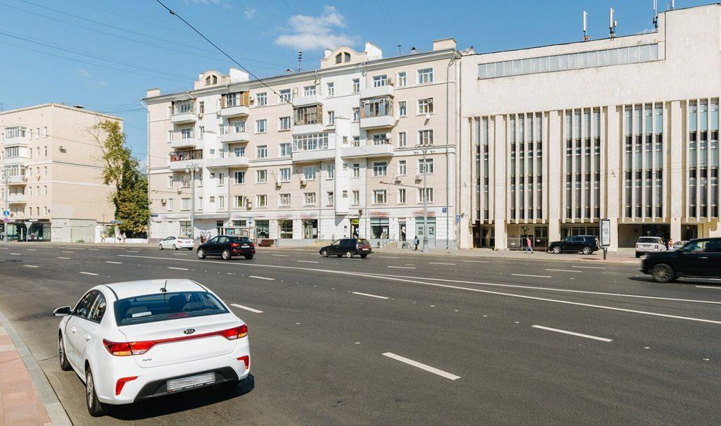 Дом в стиле конструктивизма отремонтируют в районе Замоскворечье