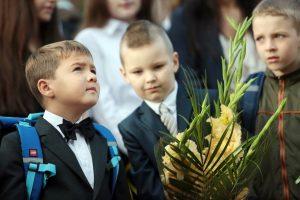 В прошлом учебном году школы приняли почти 115 тысяч первоклассников. Фото: «Вечерняя Москва»