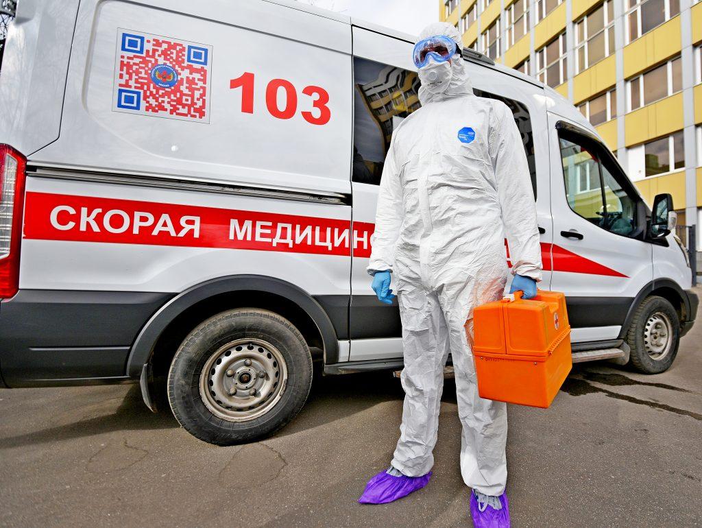 Врачи Москвы поставили более 1,7 тысячи диагнозов COVID-19 за сутки