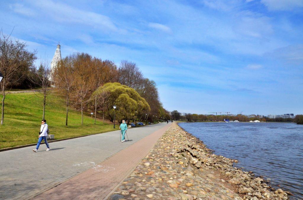 Небо над Москвой разъяснится на выходных