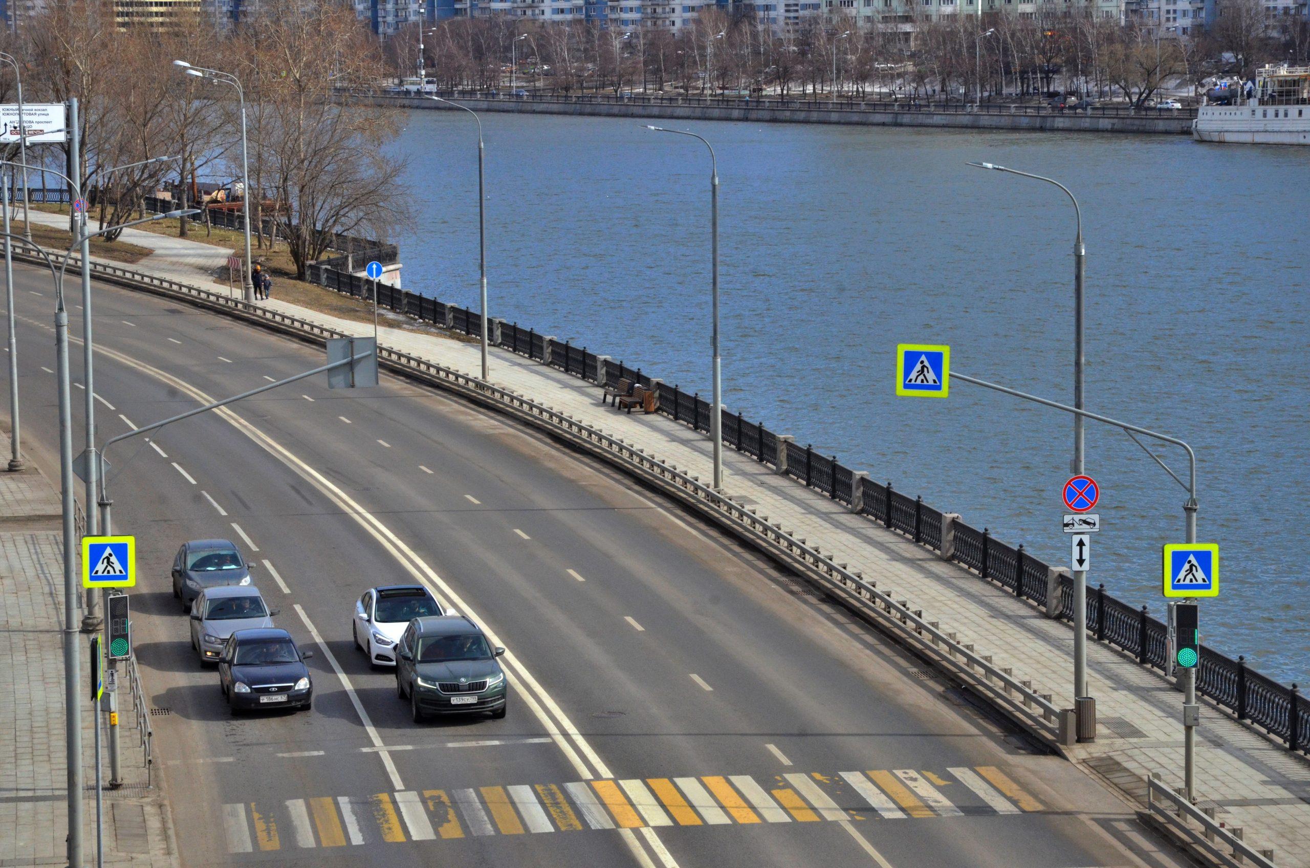 Дорожное полотно отремонтировали на улицах Тверского района. Фото: Анна Быкова