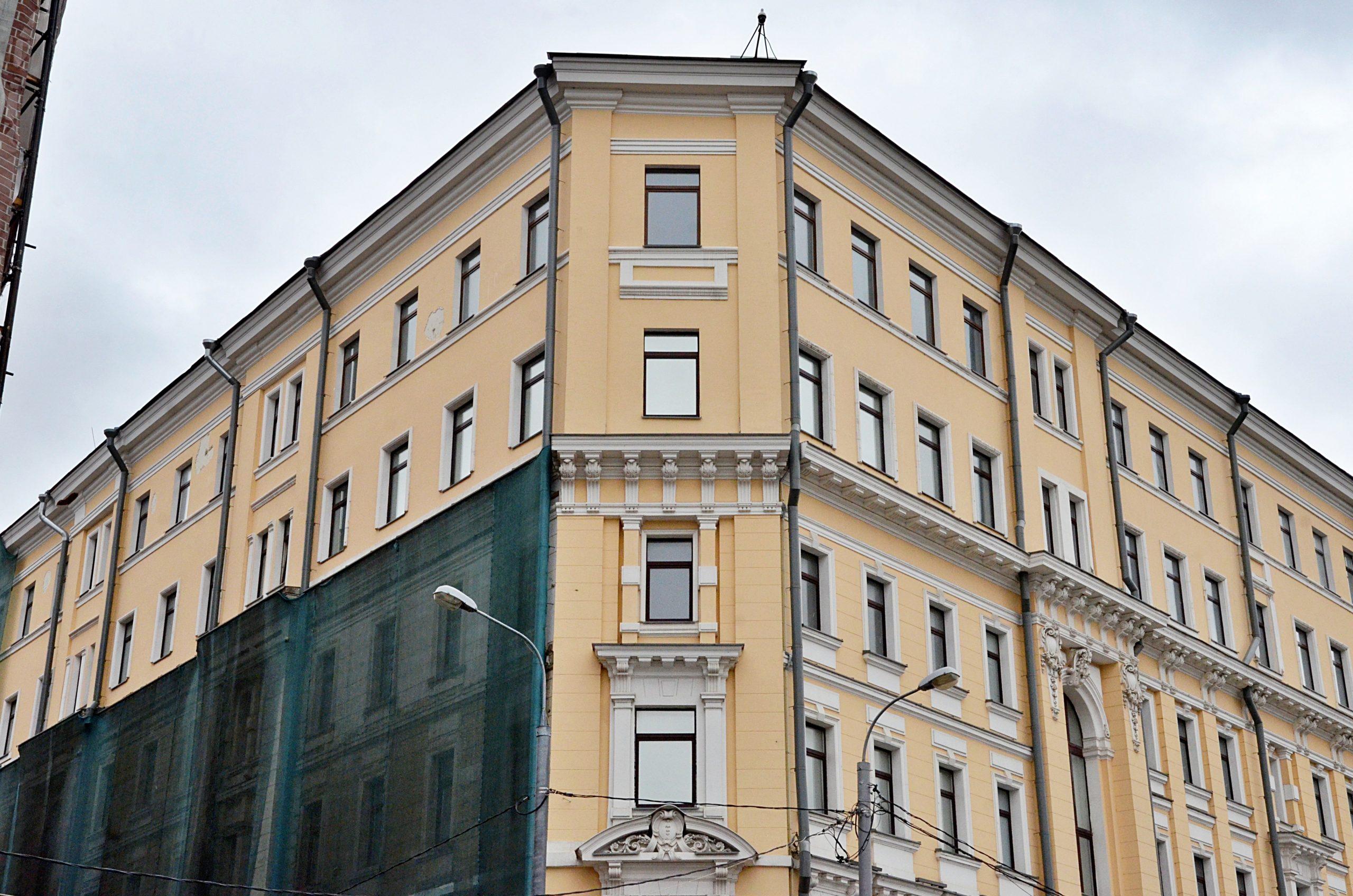 Административное здание в районе Замоскворечье отремонтируют. Фото: Анна Быкова