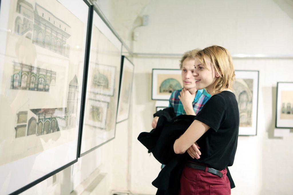 Пятая волна: выставку современного искусства откроют в музее архитектуры имени Алексея Щусева. Фото: Анна Иванцова, «Вечерняя Москва»