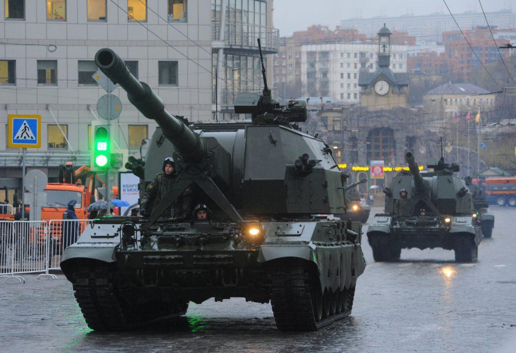 Участники Парада Победы перекроют центр Москвы во вторник