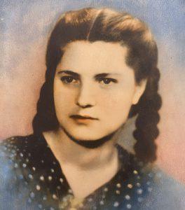 Любовь Петрушенко в 1946 году. Фото из личного архива