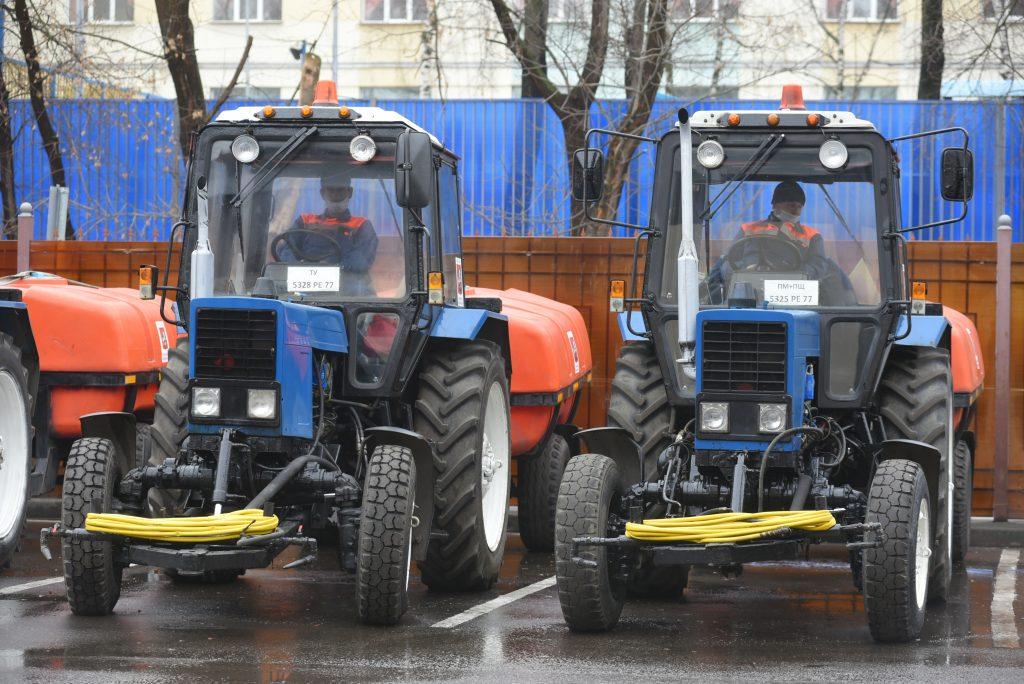 Месячник весеннего благоустройства стартовал в Центральном округе Москвы