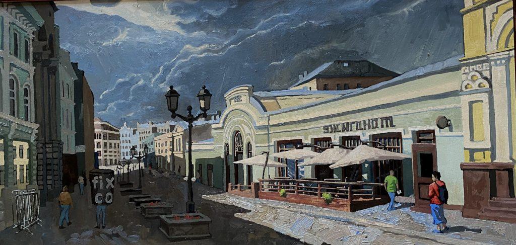 Старую и новую Москву представят на новой выставке в Пушкинской библиотеке. Фото предоставили в Пушкинской библиотеке