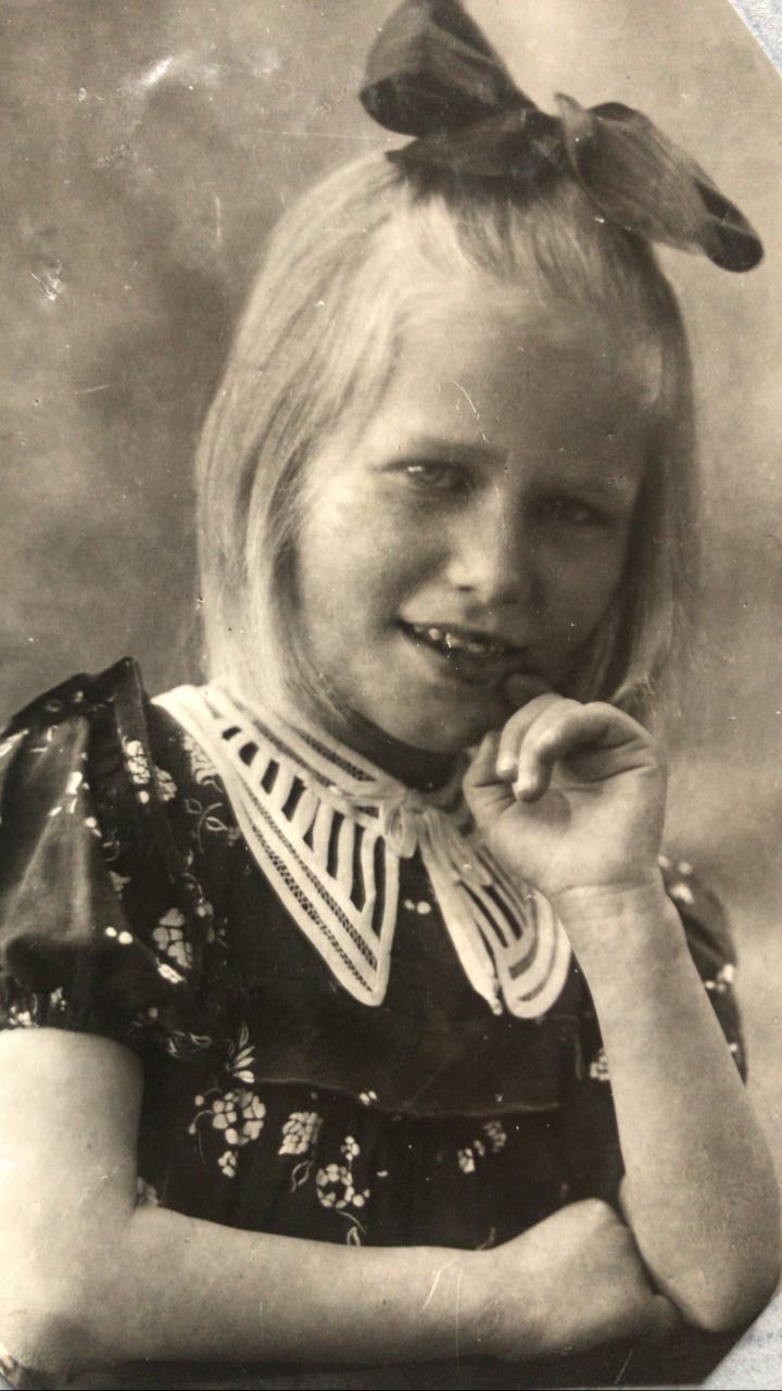 Маргарита Стрекалова, восемь лет. Фото: личный архив