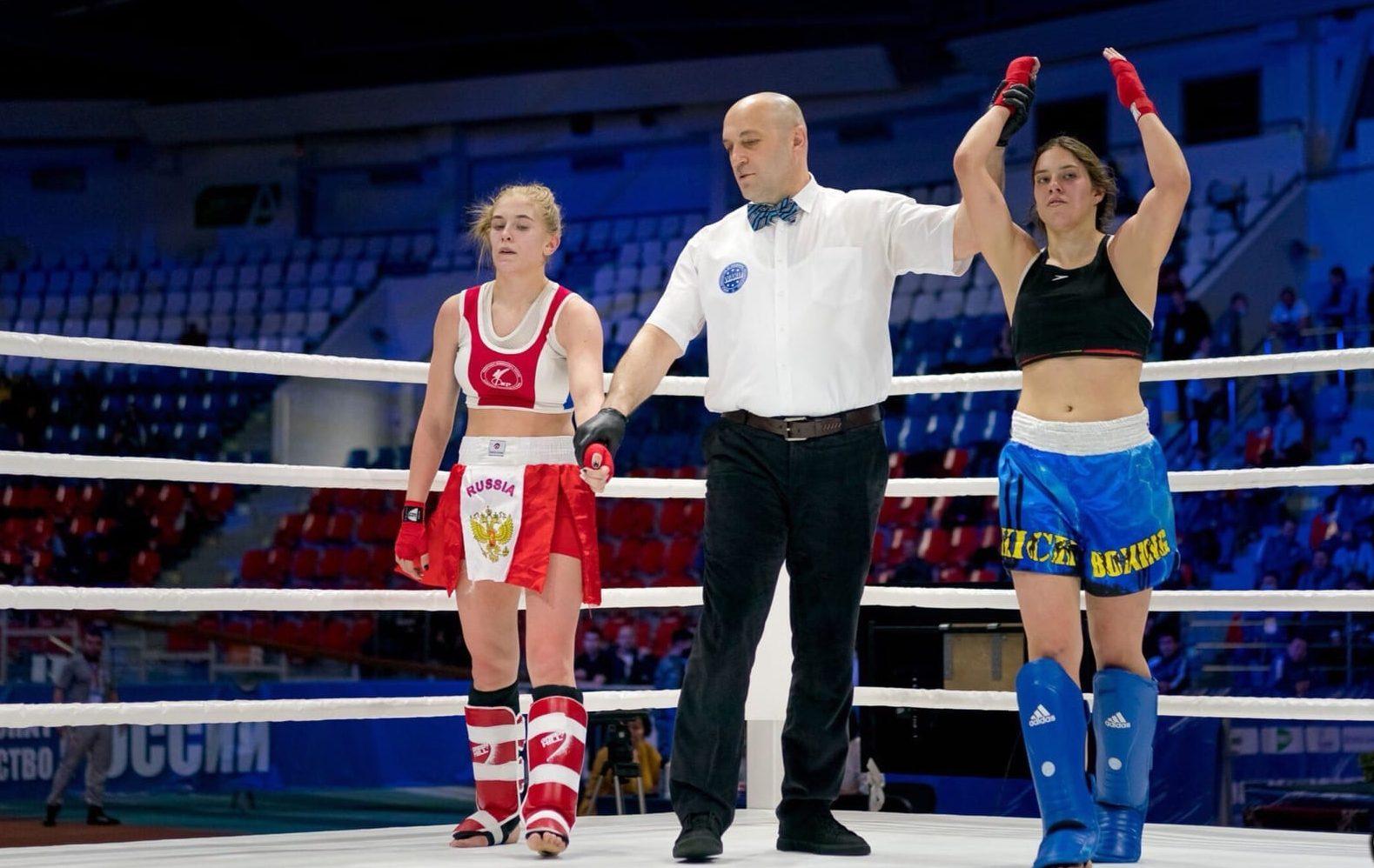 Спортсменка из Красносельского района стала чемпионкой России по кикбоксингу в разделе К1. Фото предоставили в пресс-службе Федерации кикбоксинга Москвы