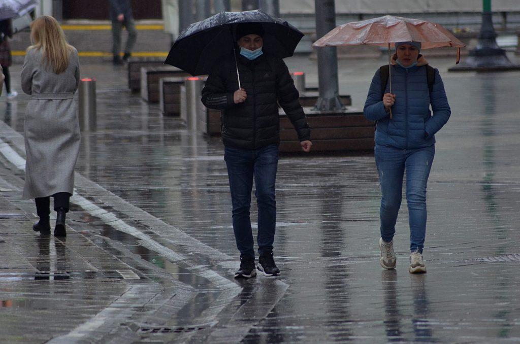 Синоптики предупредили москвичей об осадках. Фото: Анна Быкова