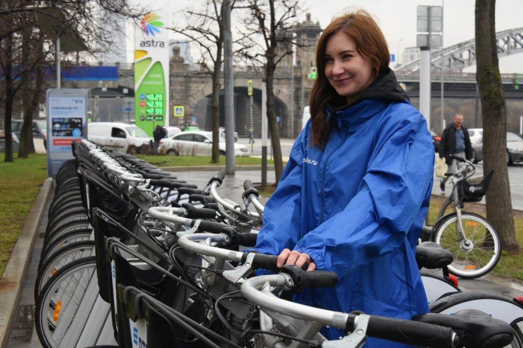 Пользователи велопроката совершили свыше 500 поездов за месяц