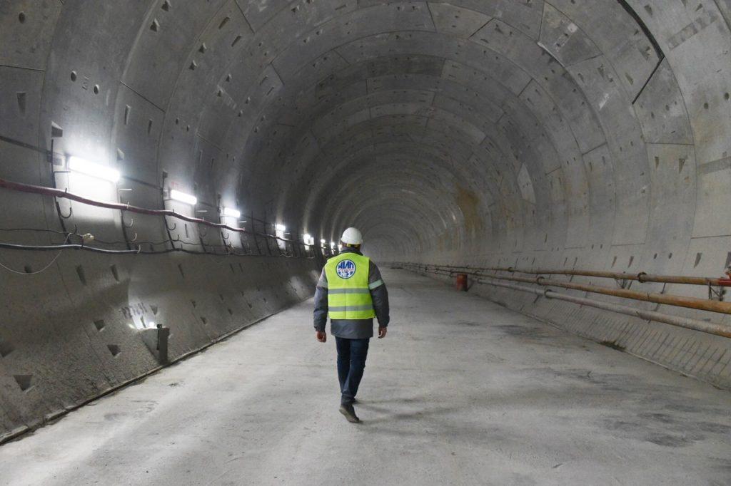 Пересадку на салатовую линию начали строить со станции БКЛ «Марьина Роща»