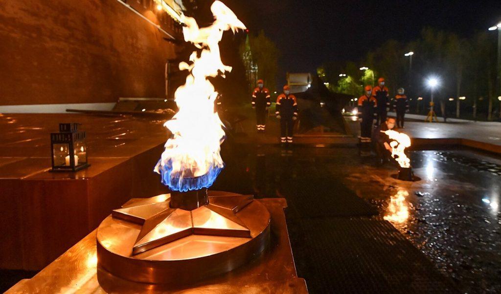 Профилактику Вечного огня проведут в Александровском саду