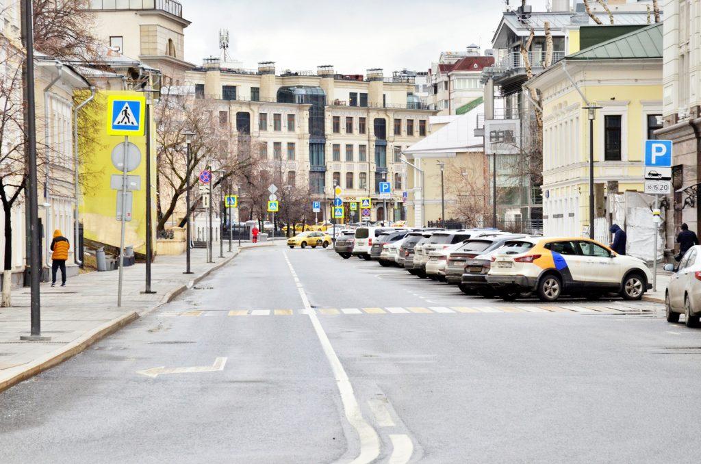 Парковка заработает у проспекта Академика Сахарова