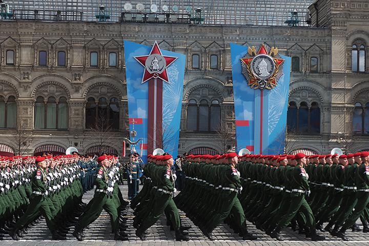 Парад Победы прошел на Красной площади 9 мая 2021 года. Фото: Антон Гердо, «Вечерняя Москва»